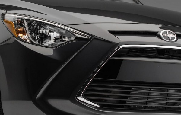 2015 NYIAS Scion iA Teaser 001 600x381 at NYIAS Preview: Scion iM Hatchback and Scion iA Sedan