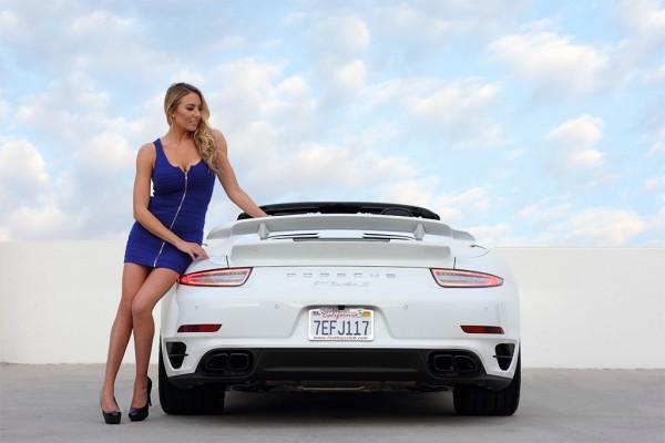 911 cabrio blue angel 1 600x400 at Weekend Eye Candy: Porsche 911 Cabrio & a Blue Angel