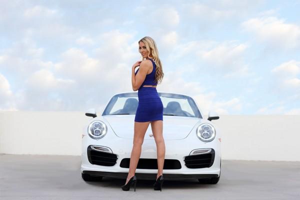 911 cabrio blue angel 3 600x400 at Weekend Eye Candy: Porsche 911 Cabrio & a Blue Angel