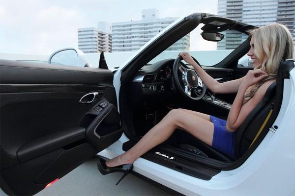 911 cabrio blue angel 5 600x400 at Weekend Eye Candy: Porsche 911 Cabrio & a Blue Angel
