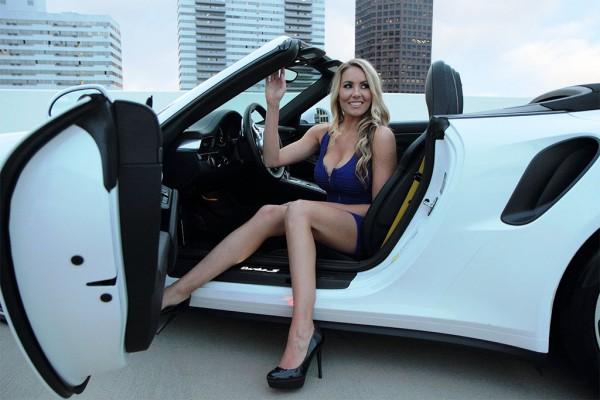 911 cabrio blue angel 8 600x400 at Weekend Eye Candy: Porsche 911 Cabrio & a Blue Angel