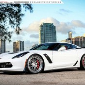 Corvette Z06 ADV1 5 175x175 at Gallery: Corvette Z06 C7 Slammed on ADV1 Wheels