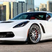 Corvette Z06 ADV1 6 175x175 at Gallery: Corvette Z06 C7 Slammed on ADV1 Wheels