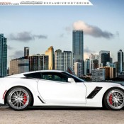 Corvette Z06 ADV1 7 175x175 at Gallery: Corvette Z06 C7 Slammed on ADV1 Wheels