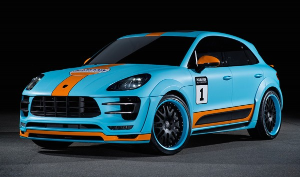 Hamann Porsche Macan Wide Body 0 600x355 at Gulf Liveried Hamann Porsche Macan Wide Body Unveiled