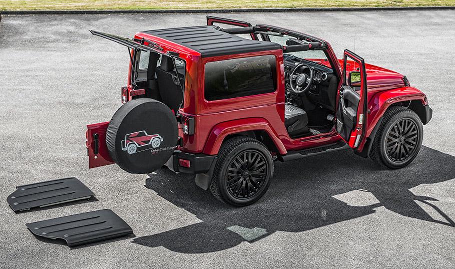 kahn design jeep wrangler 2 door version. Black Bedroom Furniture Sets. Home Design Ideas
