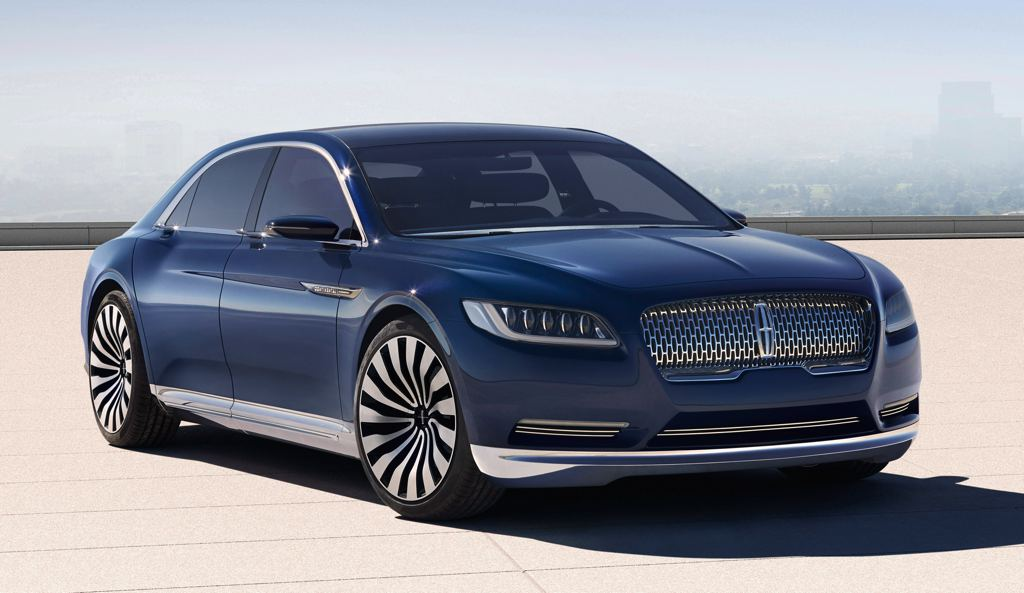 Lincoln Continental Concept 0 at Lincoln Continental Concept Revealed for NYIAS