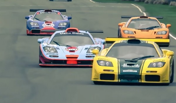 McLaren F1 GTR goodwood 600x350 at Heavy McLaren F1 GTR Action at Goodwood Members Meeting!