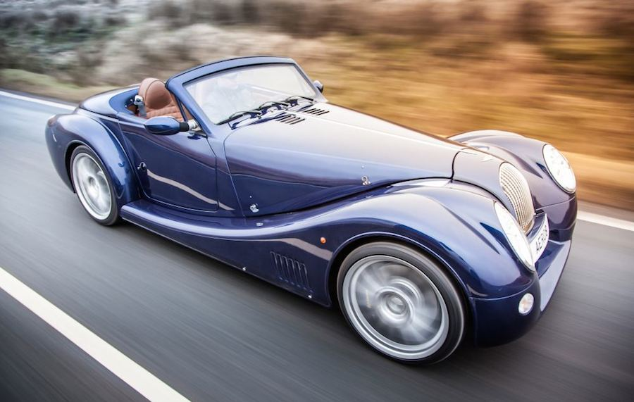 Morgan Aero 8 0 at Geneva 2015: Morgan Aero 8