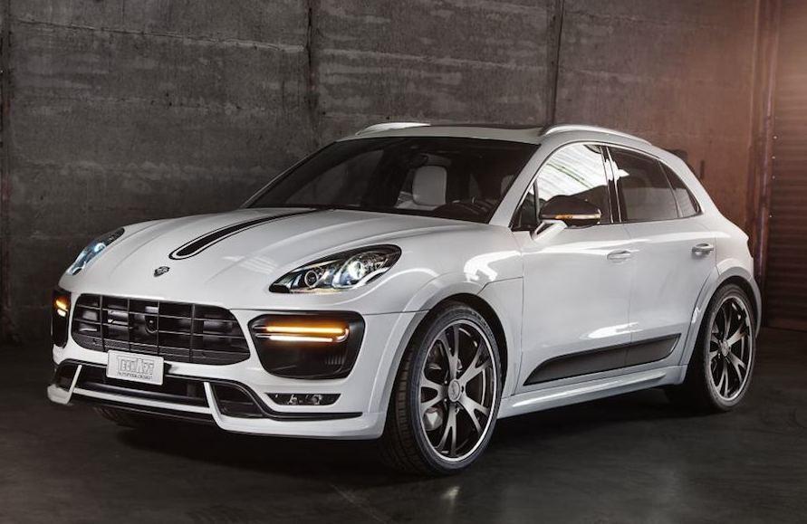 Techart Porsche Macan Bows In Geneva