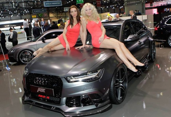 abt geneva 0 600x413 at Weekend Eye Candy: The Girls of ABT Sportline