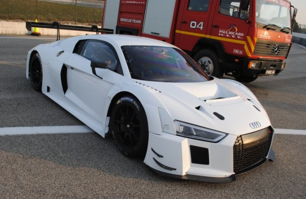 audi r8 lms paul ricard 0 600x390 at 2016 Audi R8 LMS Spotted at Paul Ricard