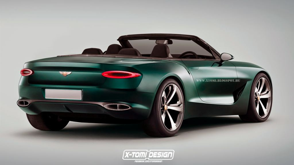 Rendering Bentley Exp 10 Speed 6 Convertible