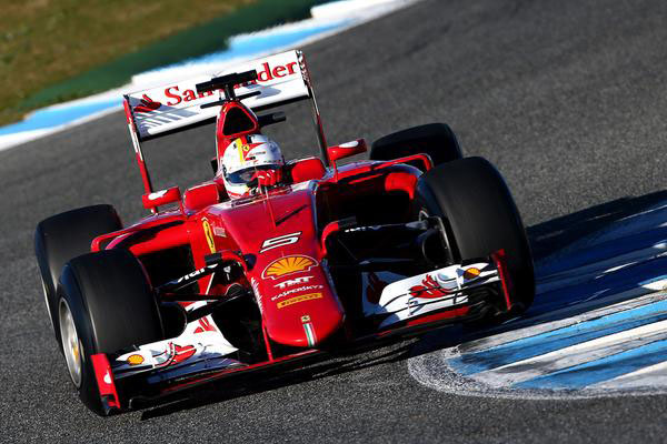 scuderia2 at Ferrari's 2015 Equation: New Car + New Driver = 2 Wins