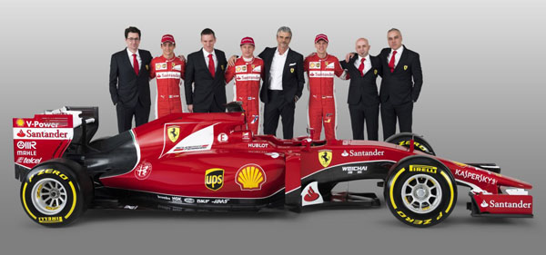 scuderia4 at Ferrari's 2015 Equation: New Car + New Driver = 2 Wins
