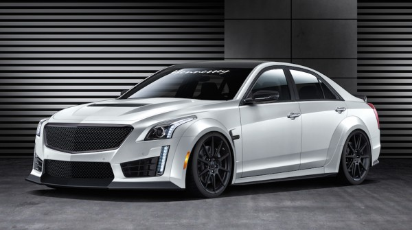 Hennessey Cadillac CTS V 1 600x335 at Hennessey Cadillac CTS V 2016 Announced