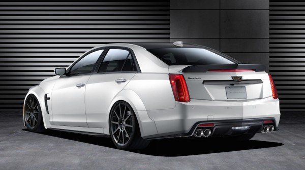 Hennessey Cadillac CTS V 2 600x336 at Hennessey Cadillac CTS V 2016 Announced
