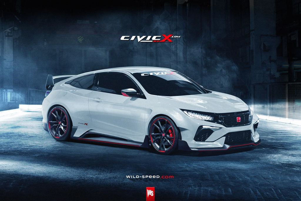 Honda Civic Coupe Type R 1 600x400 At Rendering