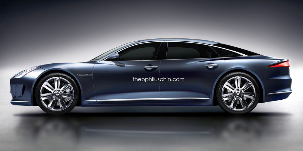 Jaguar Xj Render 2 600x300 At This Is What The Next Should Look Like