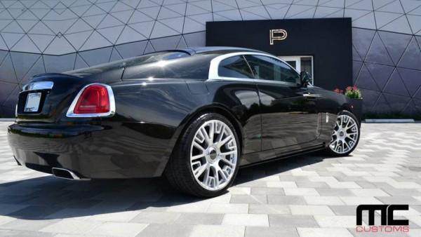 MC Customs Rolls Royce Wraith 2 600x338 at MC Customs Rolls Royce Wraith with Mansory Bits