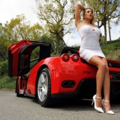 ferrari enzo model 2 175x175 at Weekend Eye Candy: Red Enzo and a Blondie