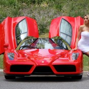 ferrari enzo model 3 175x175 at Weekend Eye Candy: Red Enzo and a Blondie
