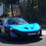 hamilton p1 4 175x175 at Lewis Hamilton's Blue McLaren P1 Spotted in Monaco