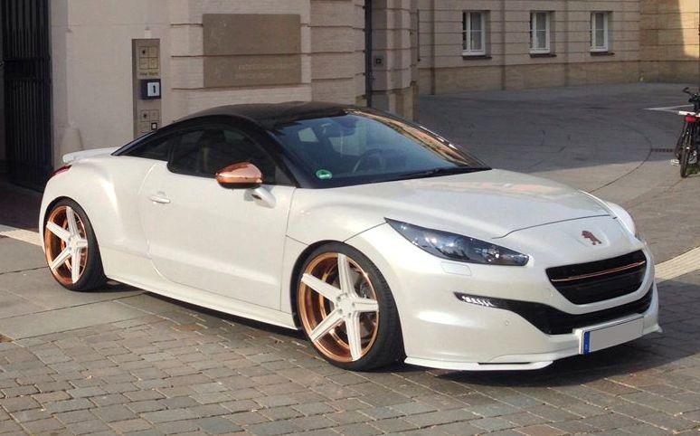 Honda Civic Srt >> Custom Peugeot RCZ by mbDESIGN