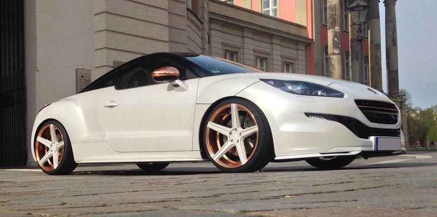 Custom Peugeot Rcz By Mbdesign