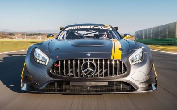 mercedes amg gt3 ring 0 600x372 at Mercedes AMG GT3 Spotted Tearing Up the 'Ring