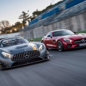 mercedes amg gt3 ring 7 175x175 at Mercedes AMG GT3 Spotted Tearing Up the 'Ring
