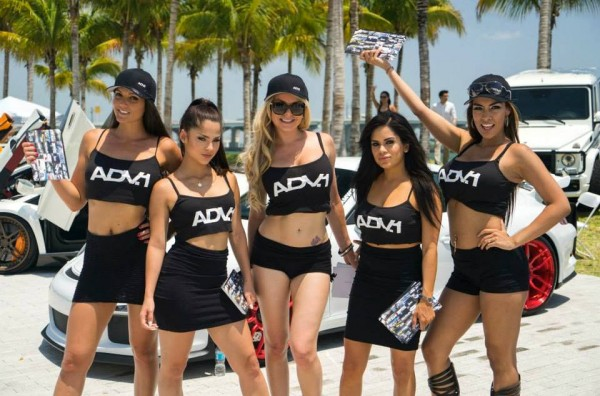 ADV1 Miami FoS 0 600x396 at Weekend Eye Candy: The Girls of ADV1 at Miami FoS
