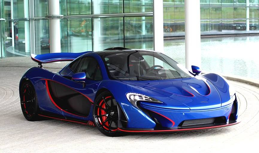 Red Wing Chevrolet >> Spotlight: One-Off Blue McLaren P1 MSO