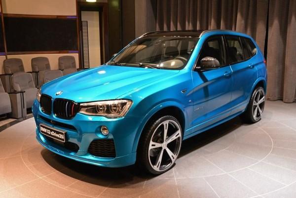 Custom BMW X3 0 600x402 at Custom BMW X3 Shows Up in Abu Dhabi