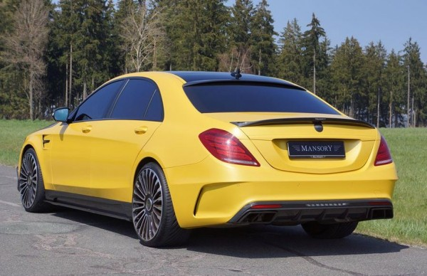 Mansory Mercedes S63 Bumblebee 2 600x388 at Mansory Mercedes S63 AMG Bumblebee Edition!