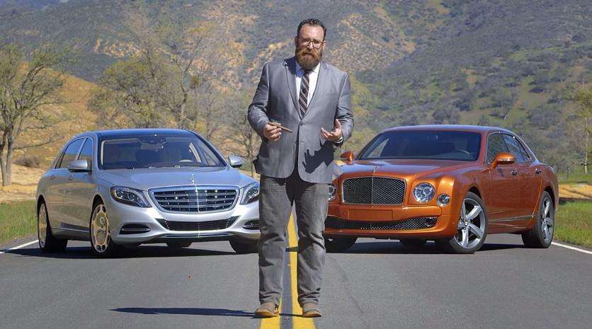 Clash Of The Luxury Titans: Maybach Vs Mulsanne Speed
