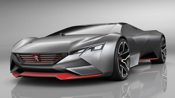 Peugeot Vision Gran Turismo 0 600x339 at Official: Peugeot Vision Gran Turismo Concept