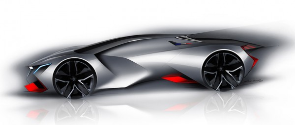 Peugeot Vision Gran Turismo 00 600x255 at Official: Peugeot Vision Gran Turismo Concept