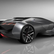 Peugeot Vision Gran Turismo 3 175x175 at Official: Peugeot Vision Gran Turismo Concept