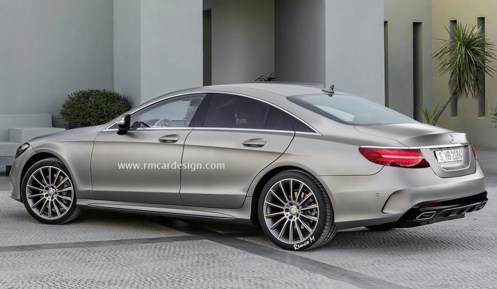 2017 Mercedes Cls Render 2 600x349 At Rendering