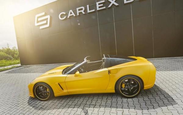 Corvette C6 Yellow Line 0 600x376 at Corvette C6 Yellow Line by Carlex Design