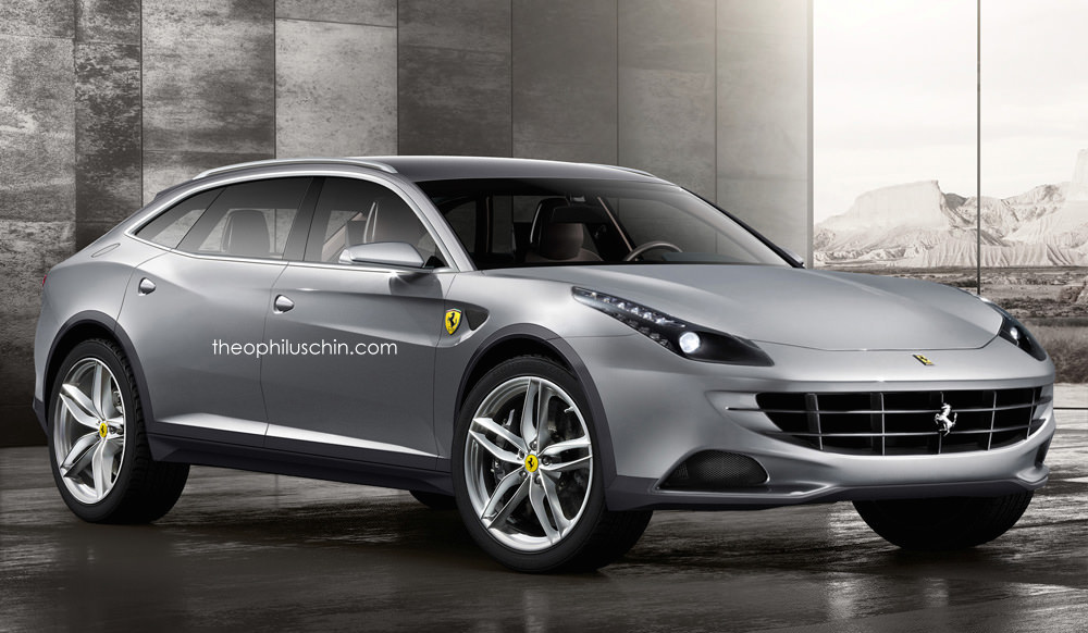 Rendering: Ferrari FX SUV