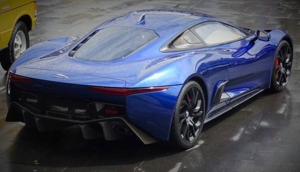 Jaguar C X75 Concept Blue 0 600x345 at Spotlight: Blue Jaguar C X75 Concept