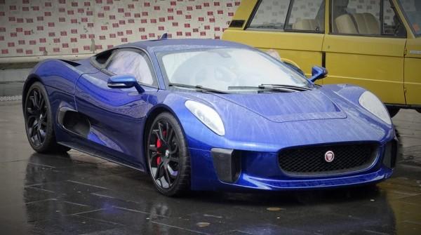 Jaguar C X75 Concept Blue 1 600x335 at Spotlight: Blue Jaguar C X75 Concept