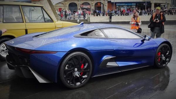 Jaguar C X75 Concept Blue 2 600x340 at Spotlight: Blue Jaguar C X75 Concept