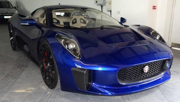 Jaguar C X75 Concept Blue 3 600x343 at Spotlight: Blue Jaguar C X75 Concept