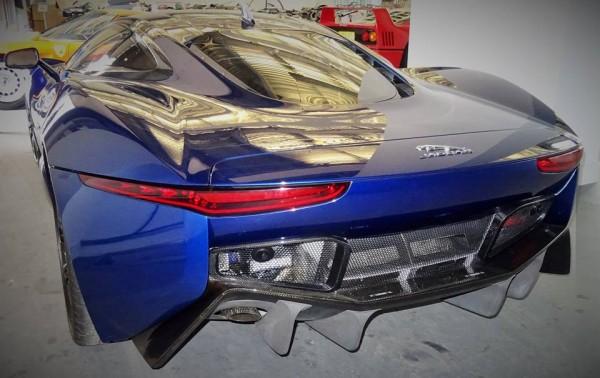 Jaguar C X75 Concept Blue 4 600x378 at Spotlight: Blue Jaguar C X75 Concept