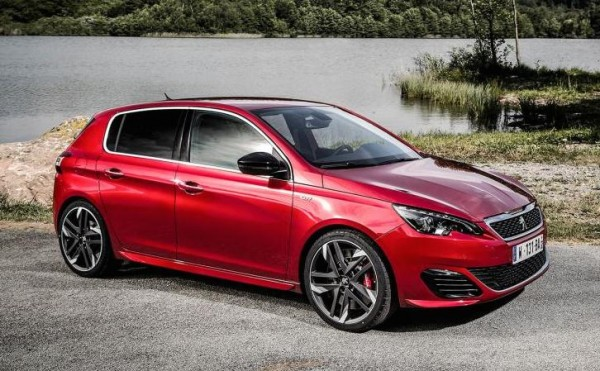 Peugeot 308 GTi 0 600x371 at Peugeot 308 GTi Revealed with 270 PS