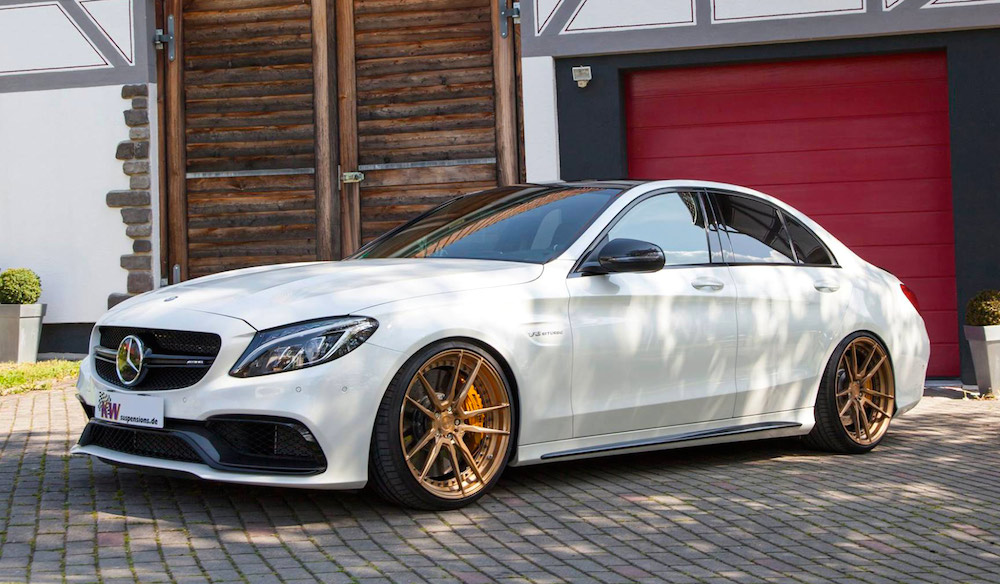 2015 Mercedes C63 AMG Goes Gold with ADV1