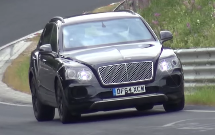 Bentley Bentayga Nurburgring at Bentley Bentayga Spotted at the Nurburgring